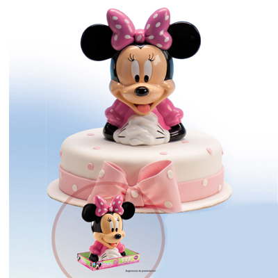 Minnie Mouse Cake Topper Figurine images